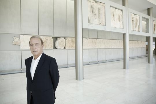 Νίκος Σταμπολίδης, «Ο Παρθενώνας είναι το σώμα-σύμβολο που ζητά τα μέλη του πίσω»   tovima.gr