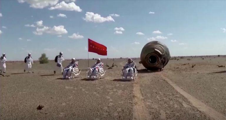 Πίσω στη Γη οι αστροναύτες μετά από 3 μήνες στον κινεζικό διαστημικό σταθμό | tovima.gr