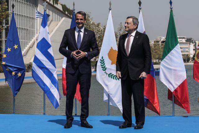 Σε εξέλιξη οι εργασίες της EUMED 9 – Τι συζήτησαν κατ' ιδίαν Μητσοτάκη και Ντράγκι   tovima.gr