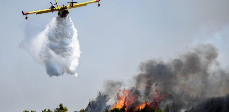 Φωτιά στη Φυλή – Στη μάχη εναέρια μέσα | tovima.gr