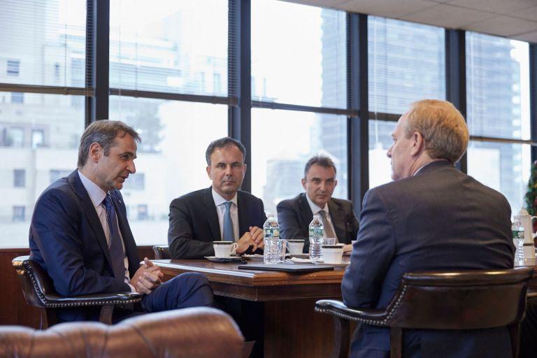 Μητσοτάκης – Συνάντηση με τον πρόεδρο της Microsoft | tovima.gr