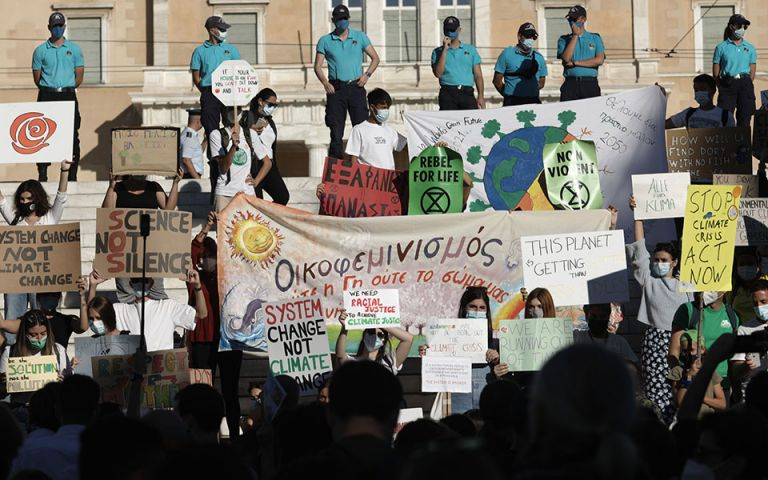 Κλιματική κρίση – Οι νέοι της Ελλάδας ένωσαν τις φωνές του με τον κόσμο   tovima.gr