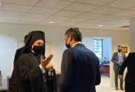Συνάντηση Μητσοτάκη – Ελπιδοφόρου: «Προέχει η άρρηκτη σχέση της Ελλάδας με την Αρχιεπισκοπή Αμερικής»