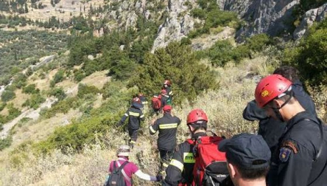Παρνασσός – Σε εξέλιξη επιχείρηση απεγκλωβισμού πέντε ορειβατών από φαράγγι   tovima.gr
