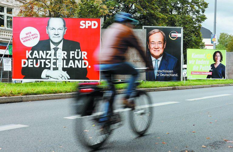 Η Γερμανία αλλάζει σελίδα – Το εκλογικό ντέρμπι  Λάσετ – Σολτς – Κλειδί οι αναποφάσιστοι   tovima.gr