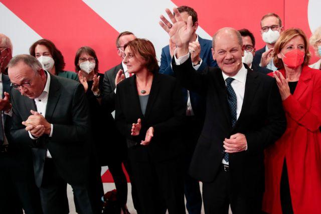 Γερμανικές εκλογές – Τελικό αποτέλεσμα – Νίκη των Σοσιαλδημοκρατών  με 25,7%   tovima.gr