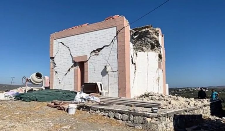 Earthquake in Crete – Tents are set up for 2,500 people who were left homeless – The area is in a state of emergency   tovima.gr