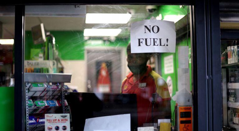 Βρετανία: Πανικός στα πρατήρια για λίγη βενζίνη   tovima.gr