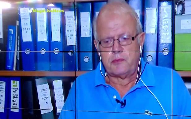 Άκης Τσελέντης – Δάκρυσε στον τηλεοπτικό αέρα μιλώντας για τον σεισμό στην Κρήτη | tovima.gr