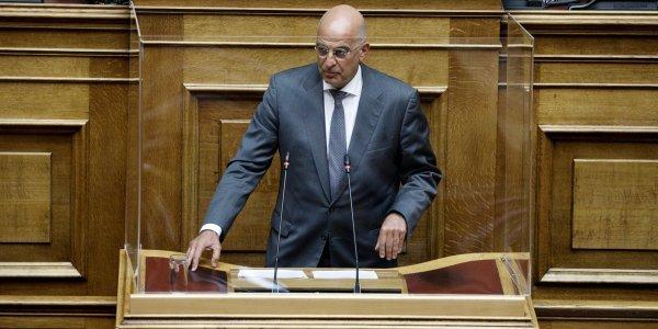Δένδιας στη Βουλή – Η εθνική ομοψυχία είναι το ίδιο ισχυρό όπλο όπως και οι φρεγάτες | tovima.gr