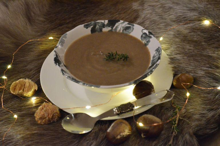 Σούπα με κάστανα και φακές | tovima.gr