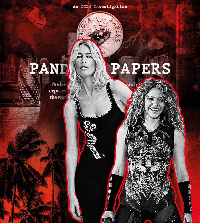 Κλόντια Σίφερ και Σακίρα στα Pandora Papers | tovima.gr