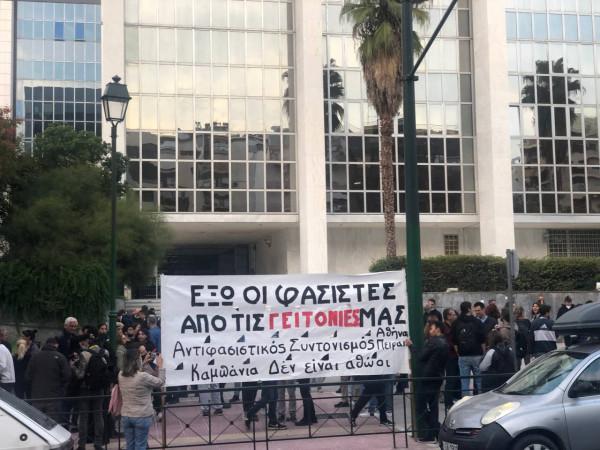 Ακροδεξιοί προσπάθησαν να «σπάσουν» την αντιφασιστική συγκέντρωση στην Καλλιθέα   tovima.gr
