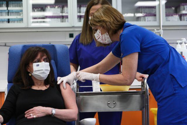 Κοροναϊός – Εμβόλιο – Την τρίτη δόση θα κάνει αύριο η Κατερίνα Σακελλαροπούλου   tovima.gr
