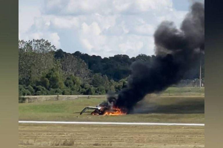 Γεωργία – Αεροπλάνο συνετρίβη και τυλίχτηκε στις φλόγες στο αεροδρόμιο – Δείτε βίντεο | tovima.gr