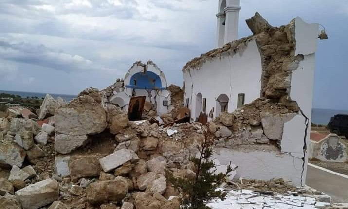 Crete rocked by an earthquake measuring 6.3 on the Richter scale, no casualties reported | tovima.gr