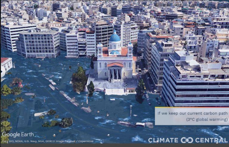 Εφιαλτικές εικόνες από το μέλλον του πλανήτη – Πώς θα είναι η Θεσσαλονίκη και ο Πειραιάς | tovima.gr