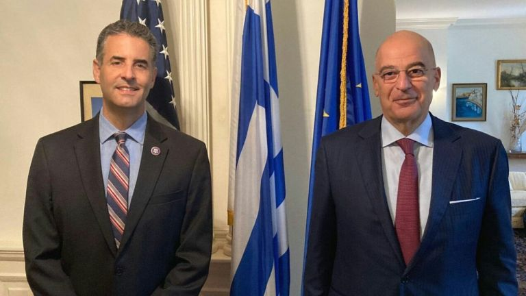 Μπαράζ επαφών Ν. Δένδια στις ΗΠΑ, πριν την υπογραφή της συμφωνίας αμυντικής συνεργασίας   tovima.gr