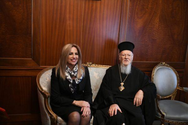 Φώφη Γεννηματά – Ευχές για ταχεία ανάρρωση από τον Οικουμενικό Πατριάρχη Βαρθολομαίο   tovima.gr