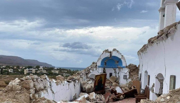Shipowner Thanasis Martinos will undertake the restoration of the church of Agios Nikolaos in Xerokampos, Sitia   tovima.gr