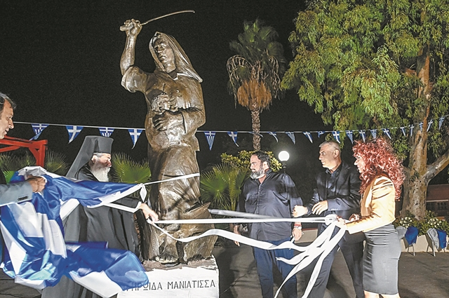Η «Ηρωίδα Μανιάτισσα» κοσμεί το μεγάλο λιμάνι   tovima.gr